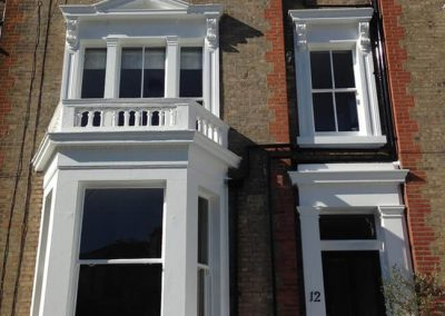 External decoration of property in Clifton